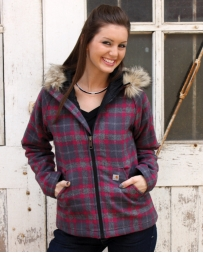 Carhartt® Ladies' Camden Plaid Wool Jacket