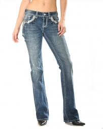 Grace in LA Ladies' Boot Cut Jeans