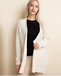 Just 1 Time® Ladies' Knitted Drape Cardigan