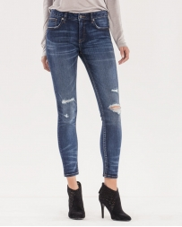 Miss Me® Ladies' Mass Appeal Ankle Skinny Jeans