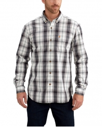 Carhartt® Men's Essential Plaid Button Down Long Sleeve Shirt - Big & Tall