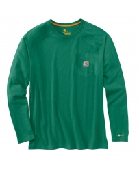 Carhartt® Men's Force® Cotton Delmont Long-Sleeve Tee - Big & Tall
