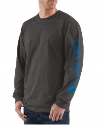 Carhartt® Men's Long-Sleeve Graphic Logo Tee
