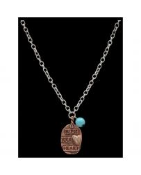 Justin® Boots Ladies' Bless Your Heart Necklace