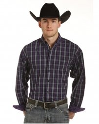 Panhandle® Men's Long Sleeve Plaid Shirt - Big & Tall