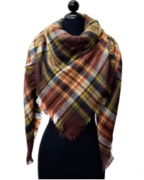 Just 1 Time® Ladies' Plaid Blanket Scarf
