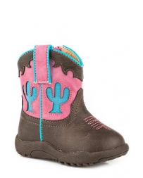 Roper® Girls' Infant Cactus Boots