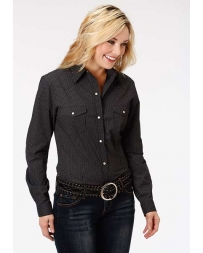 Roper® Ladies' Long Sleeve Print Shirt