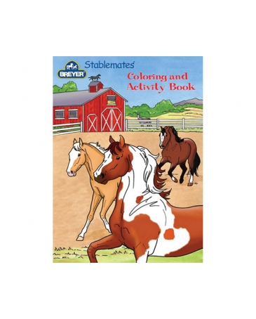 Breyer® Stablemates Coloring & Activity Book