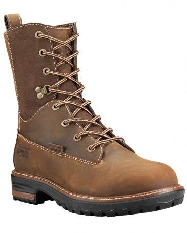 "Timberland PRO® Ladies' Hightower 8"" Alloy Toe Work Boots"