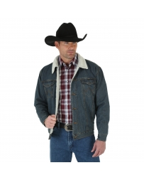 Wrangler® Men's Sherpa Lined Denim Jacket