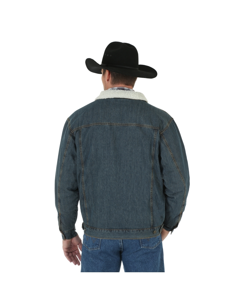e78d97f277e Wrangler® Men s Sherpa Lined Denim Jacket. Display all pictures
