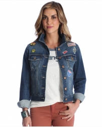 Wrangler® Ladies' Denim Patch Jacket