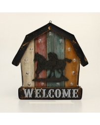 "Western Moments® Lighted ""Welcome"" Wall Sign"