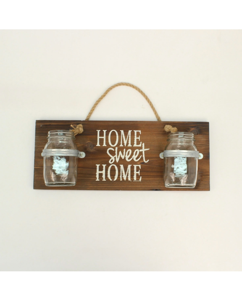 "Western Moments® ""Home Sweet Home"" Jar Wall Decor"