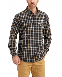 Carhartt® Men's Fort Plaid Long Sleeve Shirt - Big & Tall