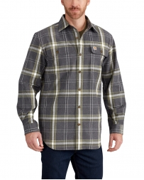 Carhartt® Men's Hubbard Plaid Flannel Shirt - Big & Tall