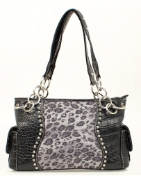 M&F Western Products® Ladies' Satchel Leopard Print