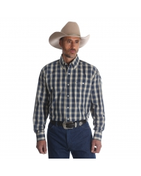 Wrangler® Men's Long Sleeve Plaid Shirt - Big & Tall