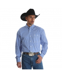 George Strait® Men's Long Sleeve Plaid Shirt - Big & Tall