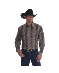 Wrangler® Men's Checotah® Dress Western Long Sleeve Shirt - Big & Tall
