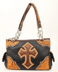 Blazin Roxx® Ladies' Tooled Cross Satchel