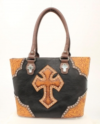 Blazin Roxx® Ladies' Tooled Cross Tote