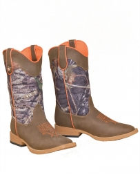 M&F Western Products® Kids' Buck Shot Camo Shaft Boot