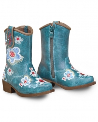 M&F Western Products® Kids' Toddler Sage Floral Snip Toe