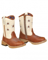 M&F Western Products® Kids' Toddler Long Star Boot