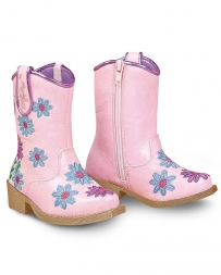 M&F Western Products® Kids' Toddler Daisy Floral Snip Toe