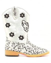 M&F Western Products® Girls' Pecos Silver Boot