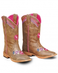 M&F Western Products® Girls' Sashay Floral Boot