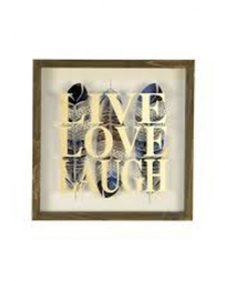 Ragon House® Live Laugh Love Framed Sign