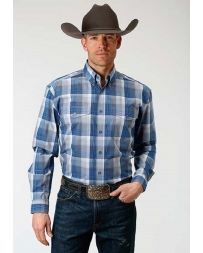 Roper® Men's Long Sleeve Plaid Shirt - Tall