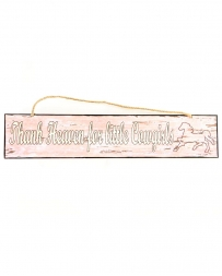 Western Moments® Little Cowgirls Sign