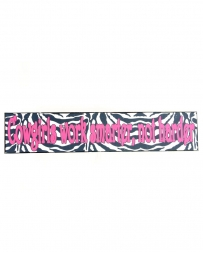 Western Moments® Zebra Cowgirls Sign