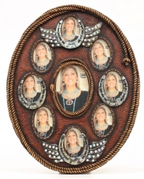 Western Moments® Oval Multi Photo Frame