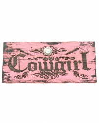 Western Moments® Cowgirl Sign