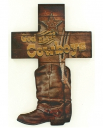 Western Moments® God Bless Cowboys Wall Decor