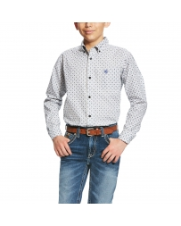 Ariat® Boys' Burton Print Shirt