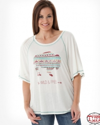 B. Tuff® Ladies' Wild And Free Buffalo Top