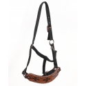 Top Hand Tack® Hand Painted Tooled Nose Bronc Halter