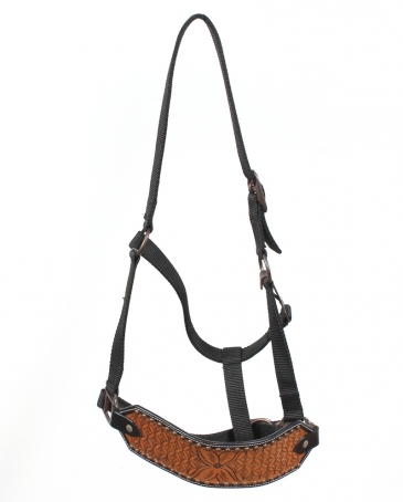 Top Hand Tack® Copper Studded Bronc Halter