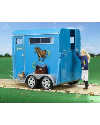 Breyer® Traditional Series Two-Horse TrailerTwo Horse Trailer