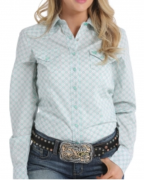 Cinch® Ladies' Mint Button Shirt