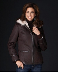Cripple Creek® Ladies' Faux Shearling Jacket
