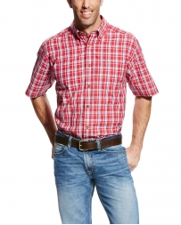 Ariat® Men's Pro Cedric Short Sleeve Plaid Shirt