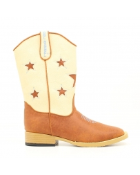 Boys' Dbl Barrel Long Star Boots