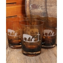 Cowboy Prayer Glass Set - 4 Piece Set